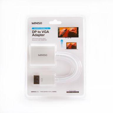 Cable Dp A Adaptador Vga Blanco 10Cm