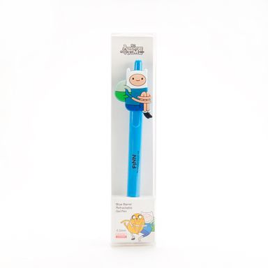 Pluma Rectractil De Gel 0.5Mm Cilindrica Azul -Adventure Time ADVENTURE TIME
