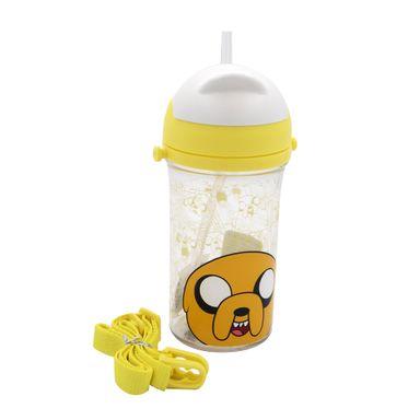 Vaso De Plastico Con Bombilla Jake Amarillo 400 Ml - Adventure Time ADVENTURE TIME