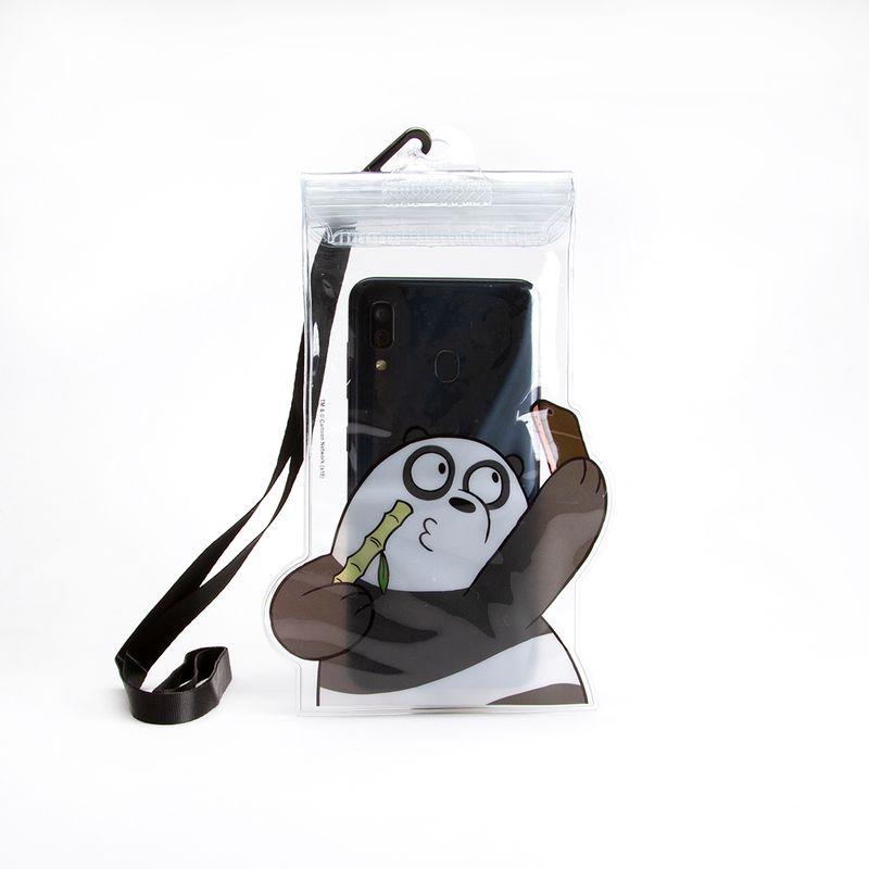 Funda-impermeable-para-celular-Panda-Multicolor-Mediana-1-768