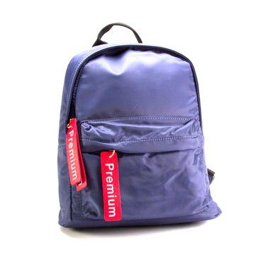 Mochila De Moda Premium Doble Cierre Azul
