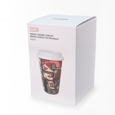 Vaso De Ceramica Doble Capa Black Widow 280 Ml - Marvel MARVEL
