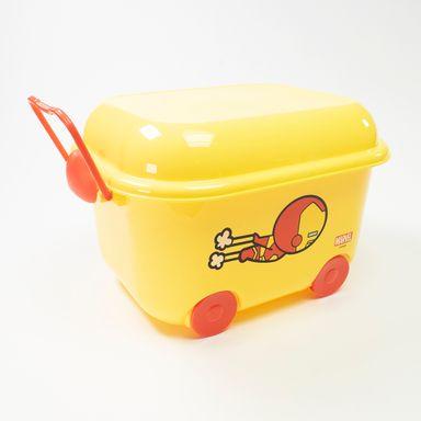 Caja De Plastico Para Almacenamiento En Forma De Carrito Iron Man  - Capacidad 9,6 Lts MARVEL