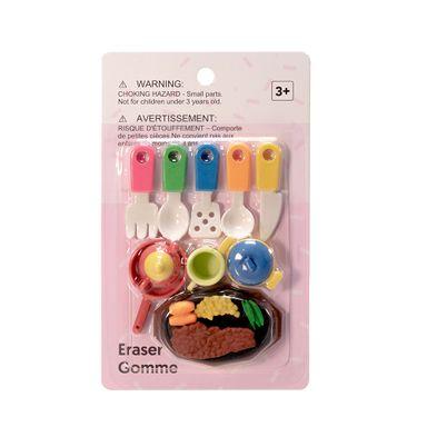 Paquete De Gomas Mod A -Food Series - Podras Recibir Alguno De Los Productos En Las Imágenes Según Stock