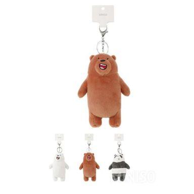 Llavero We Bare Bears 14 Cm, Podras Recibir Alguno De Los Productos En Las Imágenes Según Stock WBB