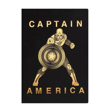 Libreta De Notas Capitan America Dorado- Marvel - Podras Recibir Alguno De Los Productos En Las Imágenes Según Stock Marvel