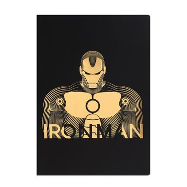 Libreta De Notas Iron Man Dorado- Marvel Marvel