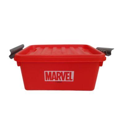 Caja De Plastico Para Almacenamiento Rojo  MARVEL