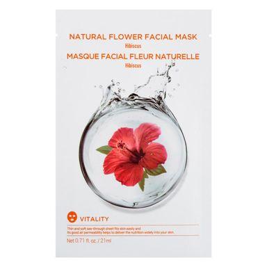 Mascarilla Facial De Flores Naturales (Hibisco) 20 Ml