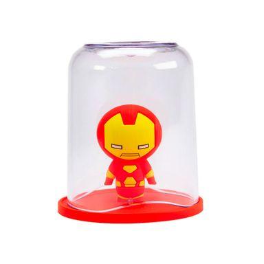 Vaso Marvel Iron Man De Limpieza Dental,