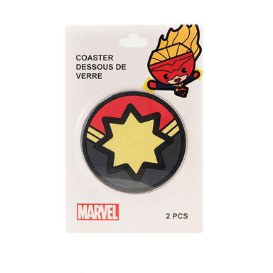 Posavaso Capitana Marvel 2 Pzs - Marvel MARVEL