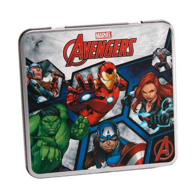 Lapices De Colores En Caja Metalica 12 Pzs - Marvel MARVEL