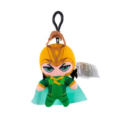 Llavero Marvel Loki Con Gancho, De Felpa