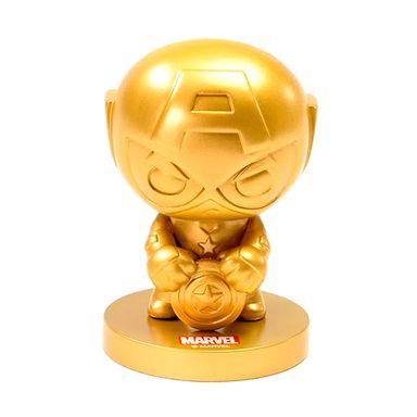 Ornamento Decoracion Dorado Capitan America MARVEL
