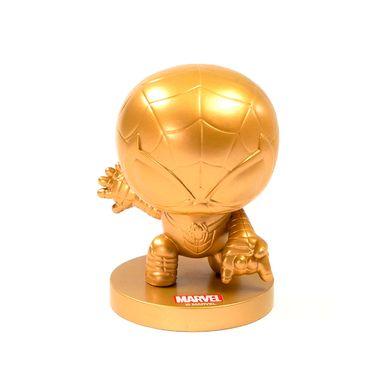 Ornamento Decoracion Dorado Spider Man MARVEL