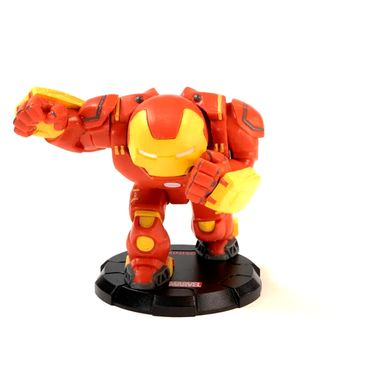 Figura Marvel Iron Man Hulkbuster Decorativa Cartoon, 11 x 14 cm
