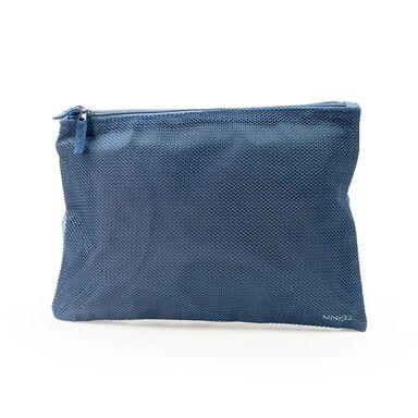 Neceser De Viaje De Doble Cierre Grande Azul Marino-Minigo 2.0
