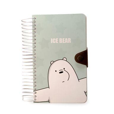 Cuaderno Y Libreta Grande Para Notas  Con   Espiral 180 Hojas - We Bare Bears, Podras Recibir Alguno De Los Productos En Las Imágenes Según Stock WBB