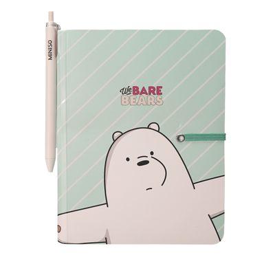 Libreta De Notas Y Pluma De Gel Con 80 Hojas - We Bare Bears, Podras Recibir Alguno De Los Productos En Las Imágenes Según Stock WBB