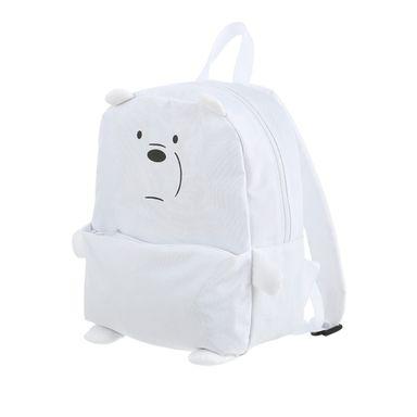 Mochila We Bare Bears Polar Con Bolsa Frontal We Bare Bears