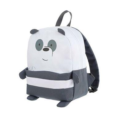 Mochila We Bare Bears Panda Con Bolsa Frontal We Bare Bears