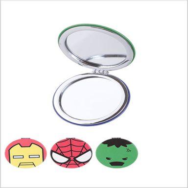 Espejo Portatil Pegable Doble Cara Redondo Iron / Man Hulk / Spiderman -  Podras Recibir Alguno De Los Productos En Las Imágenes Según Stock MARVEL