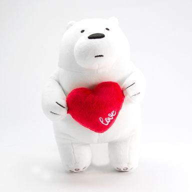 Peluche We Bare Bears We Bare Bears Serie Festival Blanco