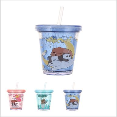 We Bare Bears- Botella Plástica 320Ml, Podras Recibir Alguno De Los Productos En Las Imágenes Según Stock WBB