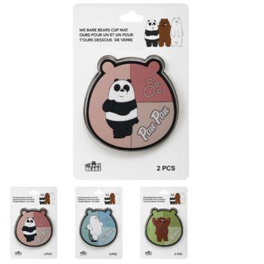 Set De Posavasos We Bare Bears Polar Varios Diseños 2 Piezas