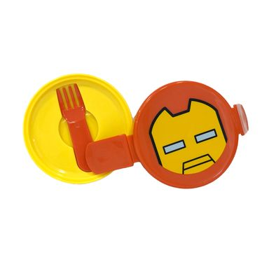Contenedor Para Lunch De Doble Capa Iron Man  MARVEL
