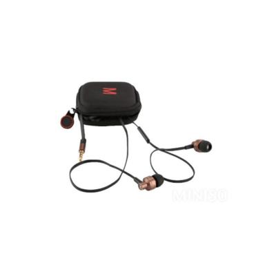 Audifonos De Cable Metalicos Con Estuche (Dorado) 1*6*16Cm