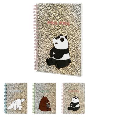 Libreta We Bare Bears B6 Con Espiral 18.8X14.2X1.9cm Podras Recibir Alguno De Los Productos En Las Imágenes Según Stock