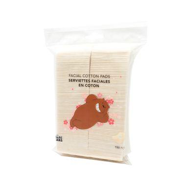 Paquete De Almohadillas De Algodón, Blanco, Chico, 150 piezas - We Bare Bears WBB