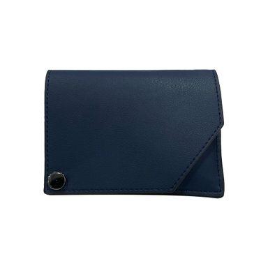 Cartera Vertical Para Hombre Con Porta-Tarjetas (Azul Marino) 11*8.3*1.6Cm