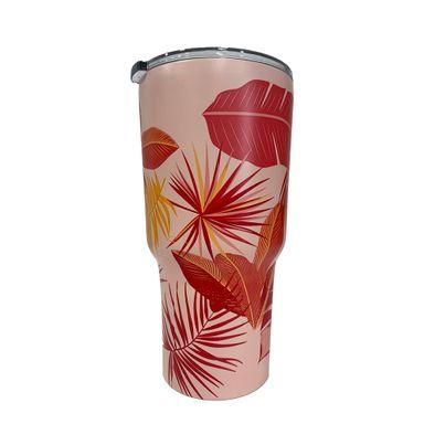 Vaso Térmico Con Estampado Rosa 500 ml