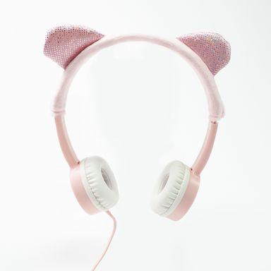Audífonos De Diadema Alámbricos Para Niños Diseño Ojitos U Orejitas, Rosa ,Podrás Recicbir Alguno De Los Productos En Las Imágenes Según Stock