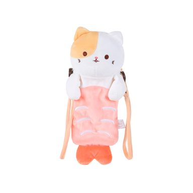 Funda Tipo Bolso Para Celular Shrimp - Sushi Cat