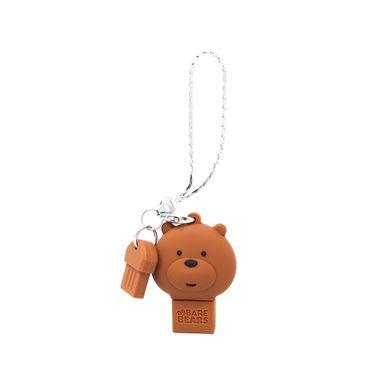Memoria USB 32 GB We Bare Bears Pardo Café 3.1X1.8X4.2CM