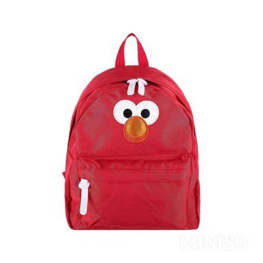 Mochila Escolar Elmo Con Tirante y Doble Cierre34x33 Cm Sesame Street
