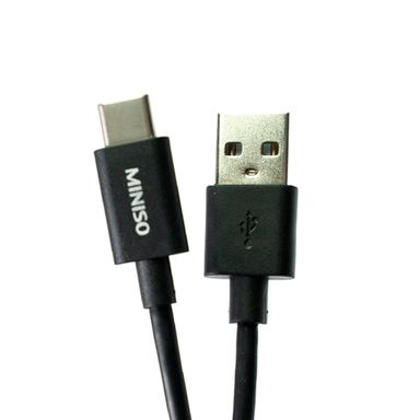 Cable Tipo C Negro 2 Mt 2.1 A
