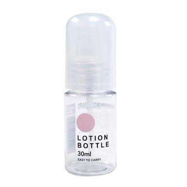 Botella Para Viaje Con Dispensador Transparente 30 ml
